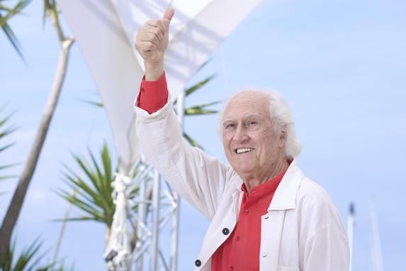 UN ÍDOLO. Pino Solanas es un viejo conocido en el Festival de Cannes. twitter / OtrosCines
