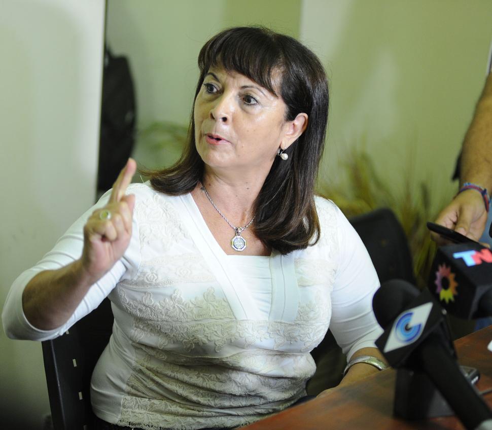 """RECLAMO. Trimarco le pide a la Justicia que siga buscando a """"Marita"""". la gaceta / foto de HECTOR PERALTA (archivo)"""