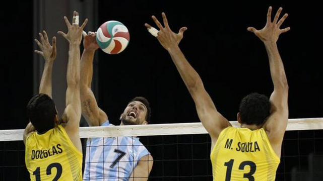Con El Alma La Selección Argentina De Voley Ganó El Oro Ante Brasil