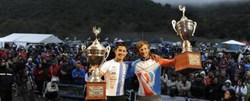 Molina ganó el Trasmontaña ¡Con la bici prestada!