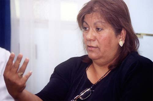 DÍAZ. La legisladora oficialista integra la misma lista que lidera el senador Mansilla. credito