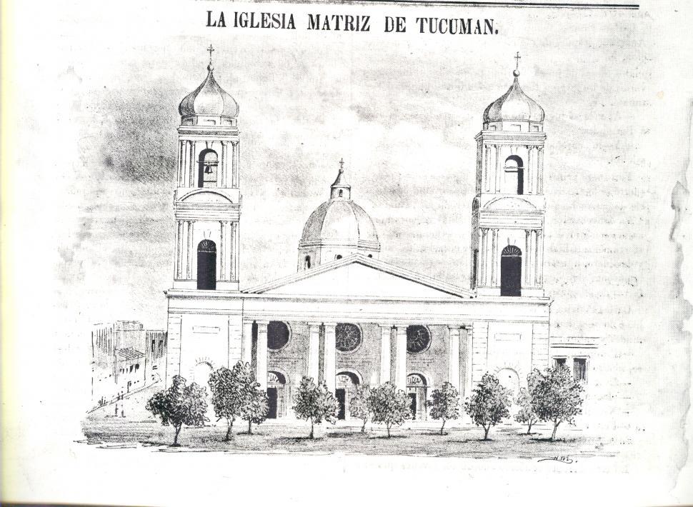EL SERMÓN DE 1856. Portada del folleto de 13 páginas editado por el Gobierno de Tucumán.