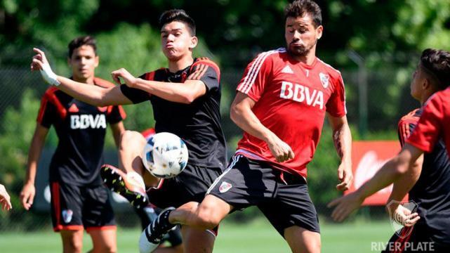 El juvenil Luis Olivera se perfila para ser titular en River - LA ... 0285cafe9d9ae