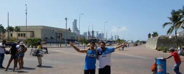 En la histórica Cartagena de Indias, todos hablan de la gesta heroica de Atlético