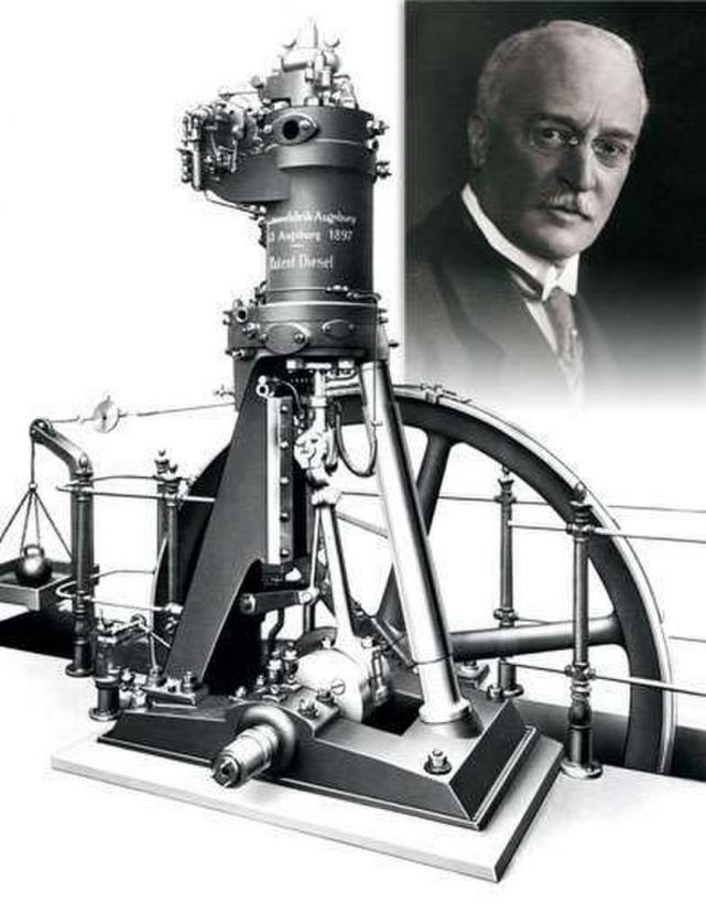 Quien invento el motor diesel