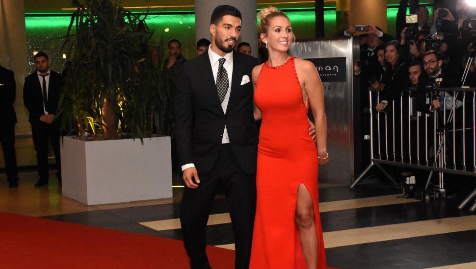Luis Suárez y Sofia Balbi