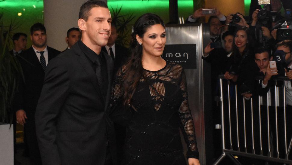 Maximiliano Rodríguez y Gabriela