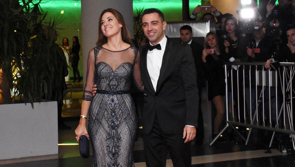 Xavi Hernández y Núria Cunillera