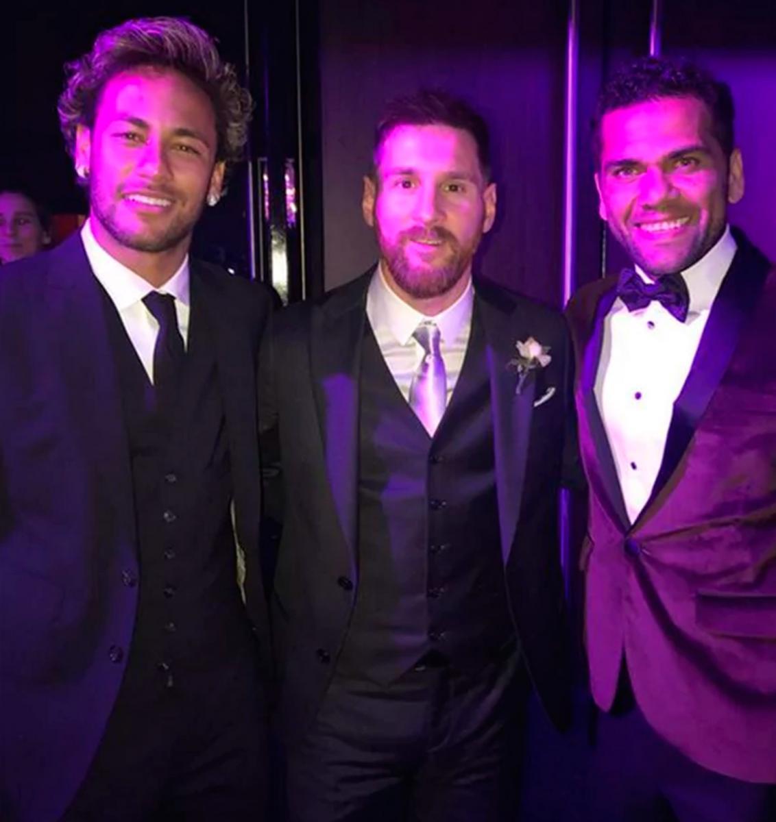 Desde adentro: mirá las fotos que sacaron los invitados del casamiento de Messi
