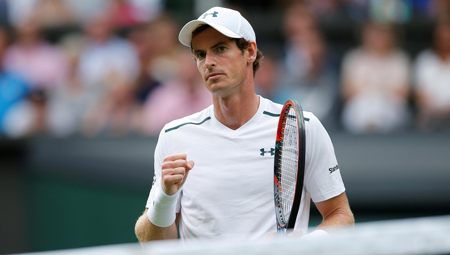 Andy Murray. REUTERS