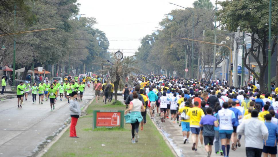 """A tener en cuenta: hay diferentes cortes de tránsito por la """"Maratón Independencia"""""""