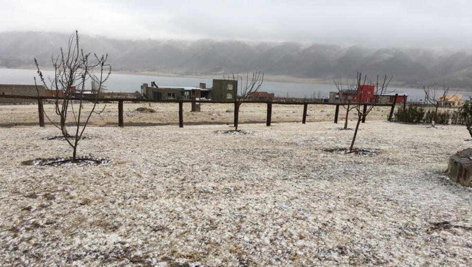 Tafí del Valle amaneció tapada de garrotillo y con temperaturas bajo cero