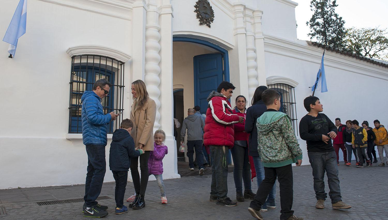 CASA HISTÓRICA. Uno de los principales atractivos de Tucumán. LA GACETA / FOTO DE DIEGO ARAOZ