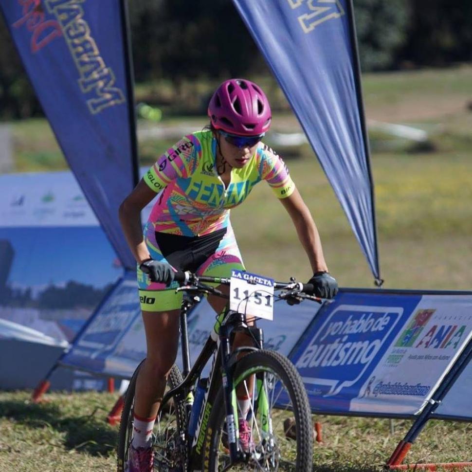 SE SIENTE BIEN. Carolina Avellaneda dijo que el mountain bike le cambió la vida.