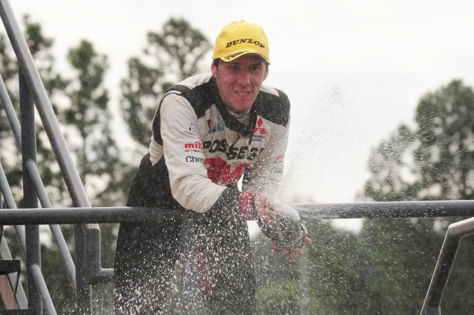 EL GANADOR. Matías Rodríguez logró su primer triunfo en el certamen. prensa top race