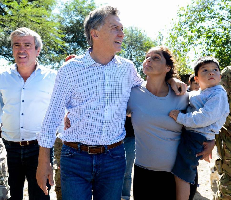 La visita de Macri aviva tensiones entre Jaldo y Cano
