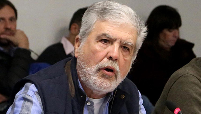 JULIO DE VIDO. El oficialismo y el massismo quieren expulsarlo de la Cámara de Diputados. ARCHIVO
