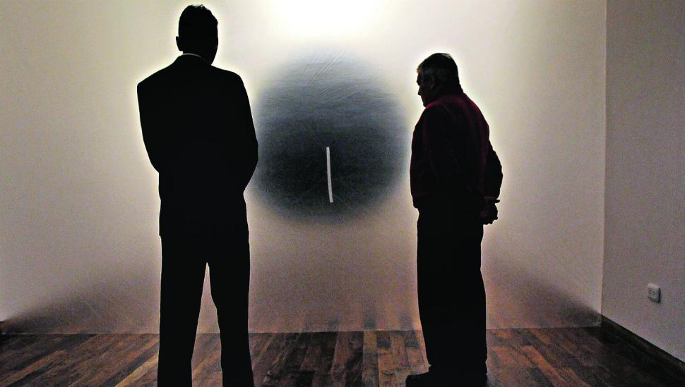 Vandalizaron a la obra ganadora del Salón de Arte Contemporáneo
