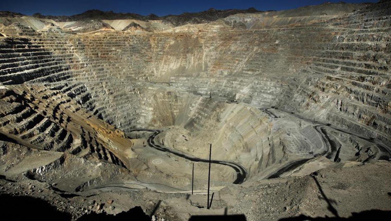 Yacimiento minero de Alumbrera. FOTO DE ARCHIVO.