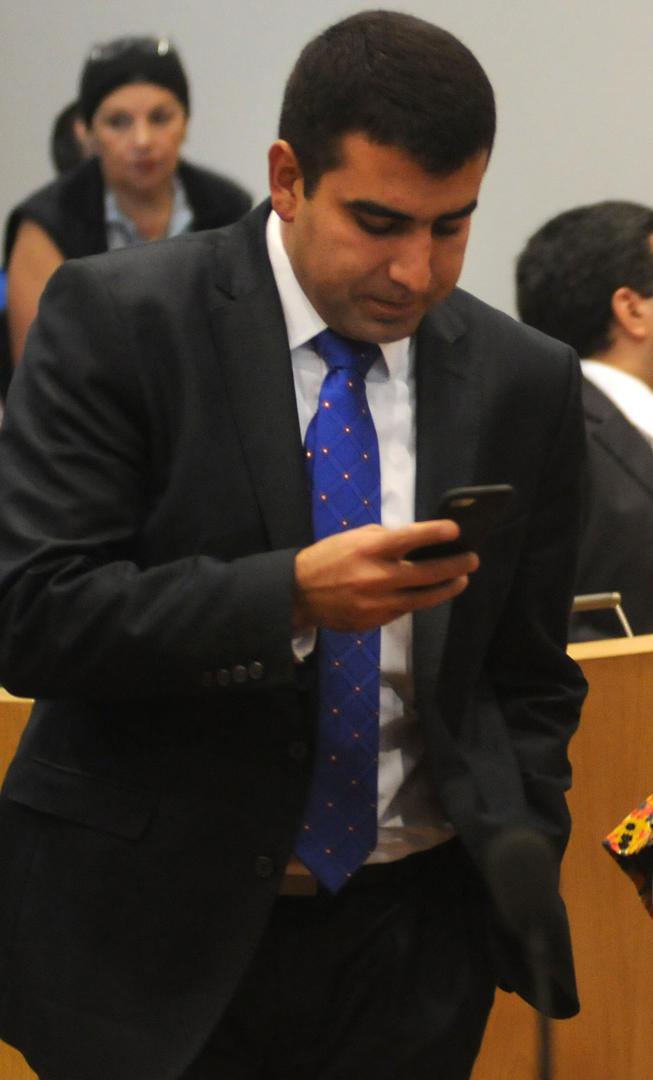 RUMBO AL RECINTO. Según sus pares, Romano Norri debe pedir disculpas por las expresiones en un mensaje de audio que se difundió en la semana. la gaceta / foto de analía jaramillo