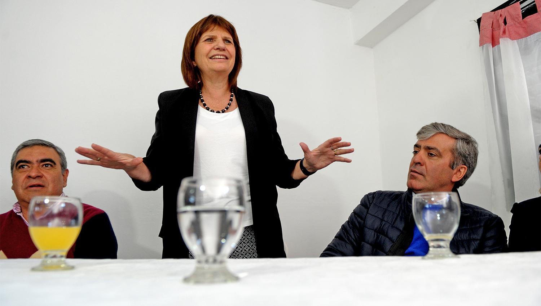 Patricia Bullrich en Banda del Río Salí. FOTO LA GACETA/ FRANCO VERA.