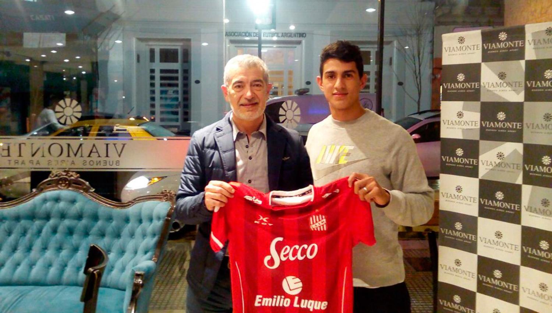 UNO MÁS. Sergio González es jugador de San Martín. (FOTO @CASMOficial)