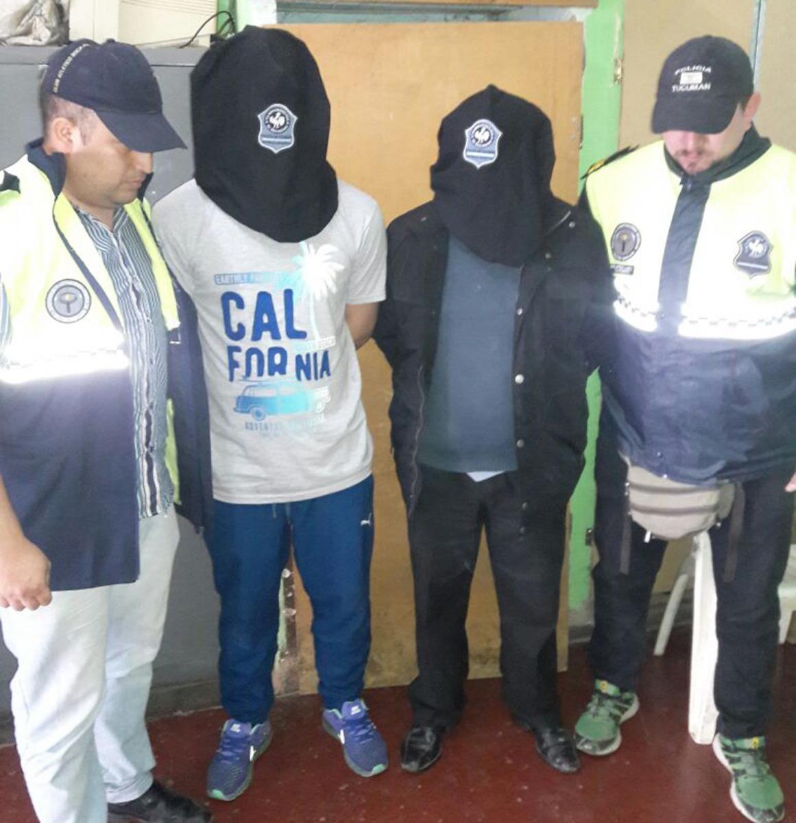 Dos prófugos santiagueños fueron detenidos en Tucumán