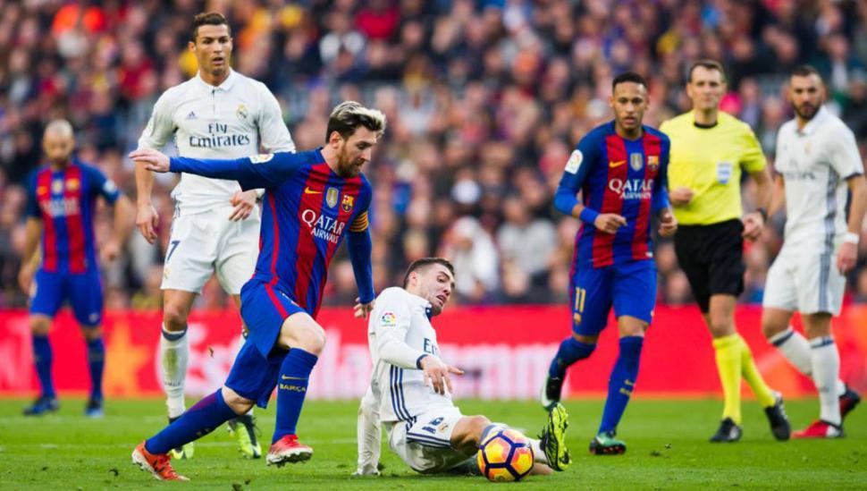 El partido entre el Barcelona y el Real Madrid arranca a las 17