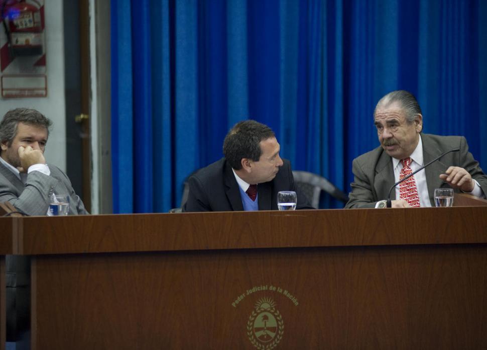 EN EL BANQUILLO DE LOS ACUSADOS. El ex juez Terán en el juicio de 2014. la gaceta / FOTO DE JORGE OLMOS SGROSSO (archivo)