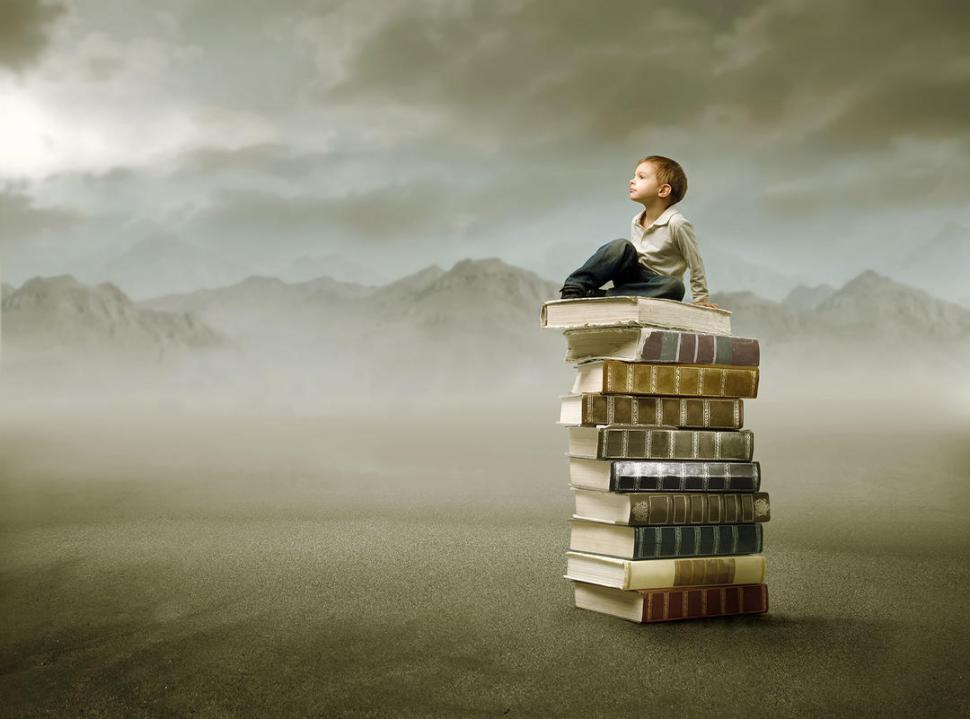 EL MEJOR LEGADO. El hábito de la lectura en los niños es esencial para estimular la imaginación, afirma Pozzi. Despierta en ellos ingenio, creatividad y desarrolla su atención en un mundo repleto de distracciones.