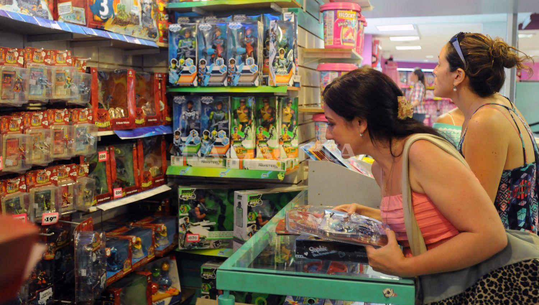 REPUNTE. Los juguetes fueron los objetos más obsequiados durante este fin de semana. ARCHIVO LA GACETA / FOTO DE INÉS QUINTEROS ORIO