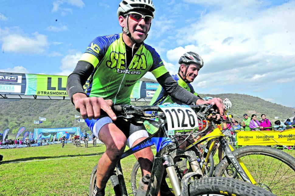 CORDOBESES. Altamirano y Domínguez coincidieron en que el Trasmontaña es la carrera más importante de la Argentina. la gaceta / foto de Antonio Ferroni