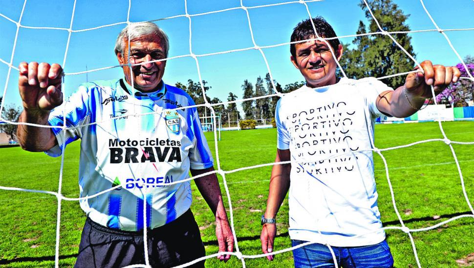 """El """"Kila"""" Castro y el """"Pulguita"""": la concentración de goles más grande del mundo """"decano"""""""