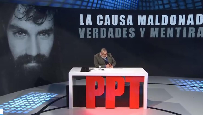 En el programa de Lanata emitieron un informe sobre la desaparición de Santiago Maldonado