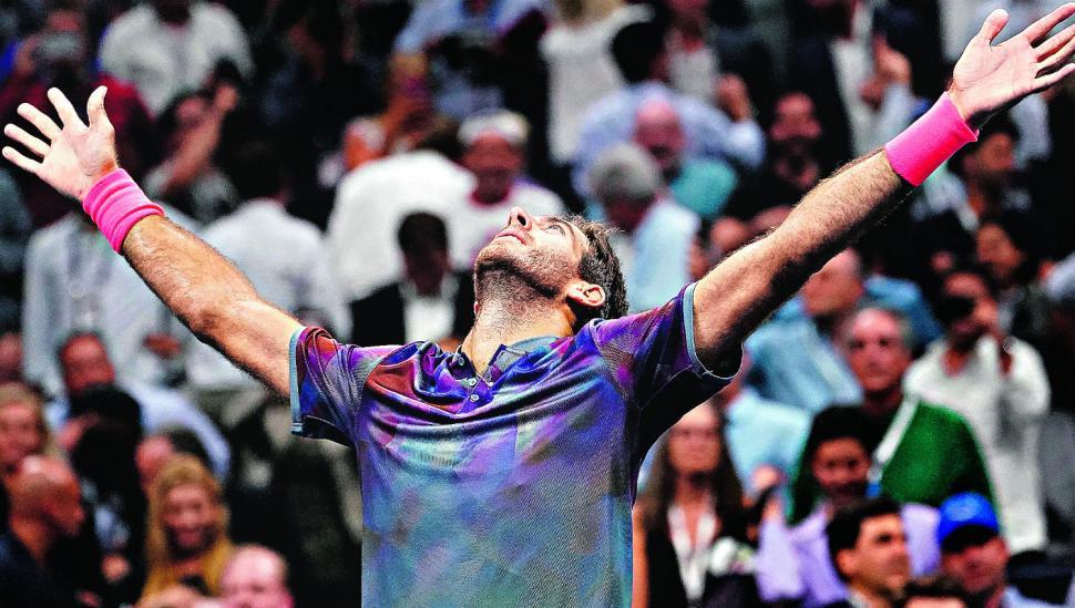 Del Potro venció a Federer y se anima a todo