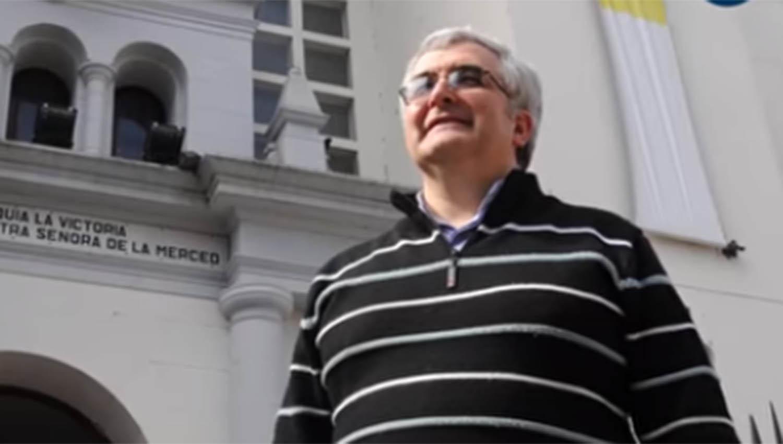 El nuevo arzobispo de Tucumán, presbítero Carlos Sánchez. LA GACETA