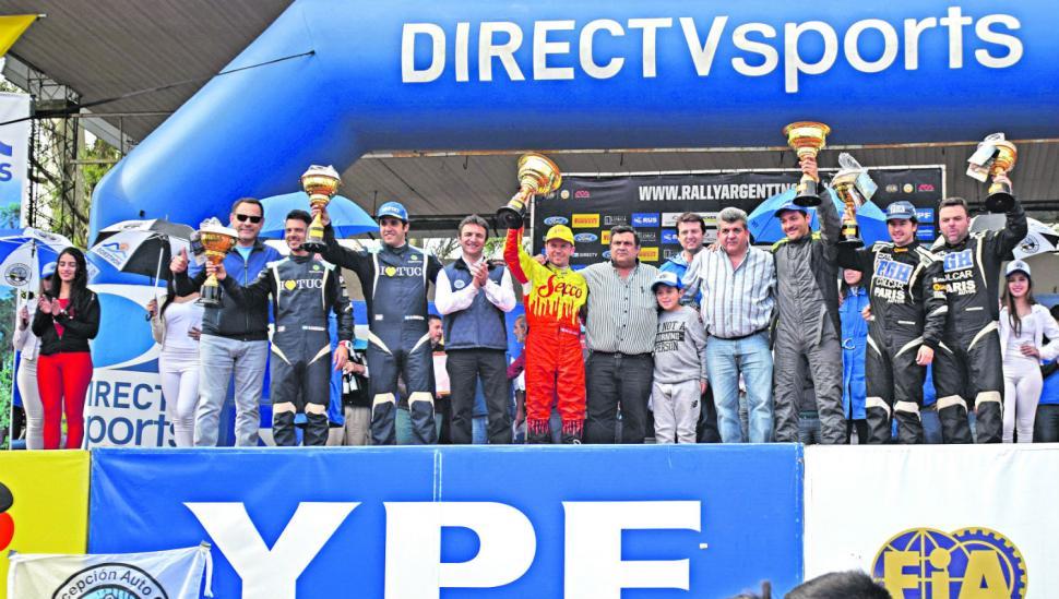 Histórico: 1-2 tucumano en el Rally Argentino