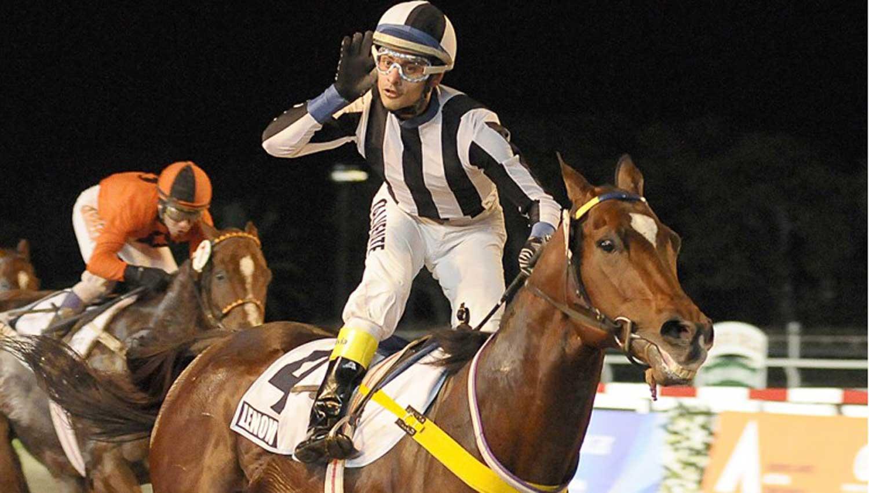 FIGURA. Gustavo Calvente, uno de los jockeys más exitosos del país, vendrá el 24. Turf Diario