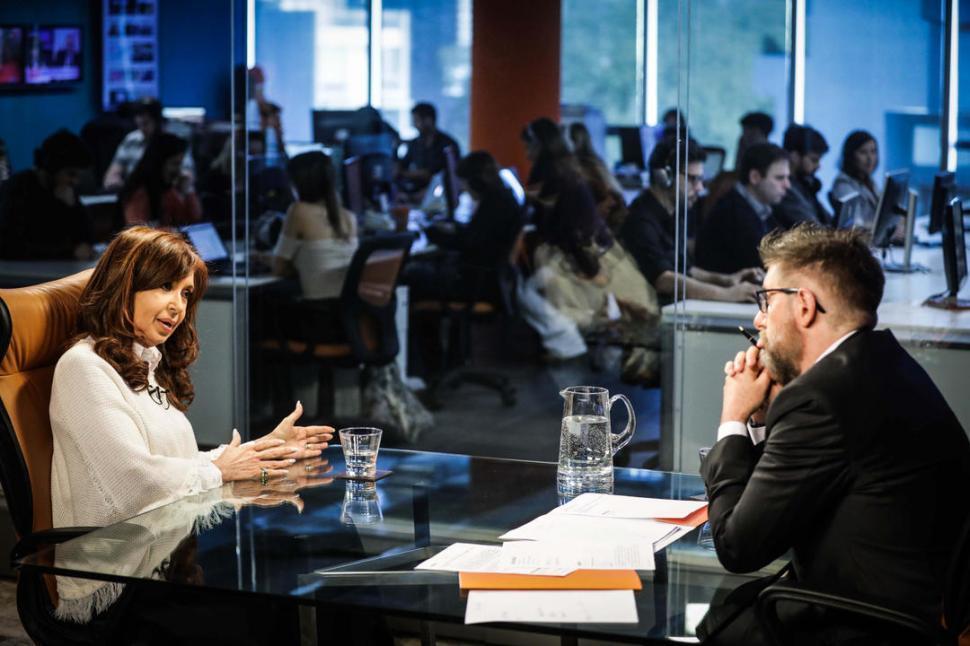 Cristina negó que su gobierno fuera corrupto