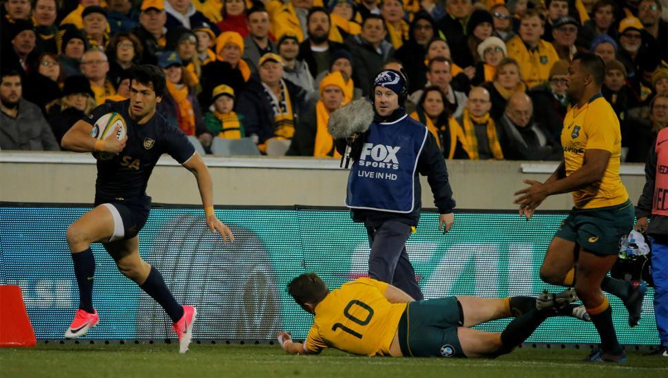 Los Pumas tuvieron un buen primer tiempo, pero fueron arrollados por Australia