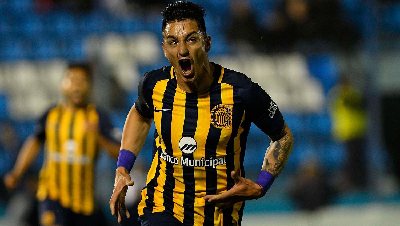 GOLEADOR. Zampedri marcó su segundo gol con la camiseta de Rosario Central. TÉLAM