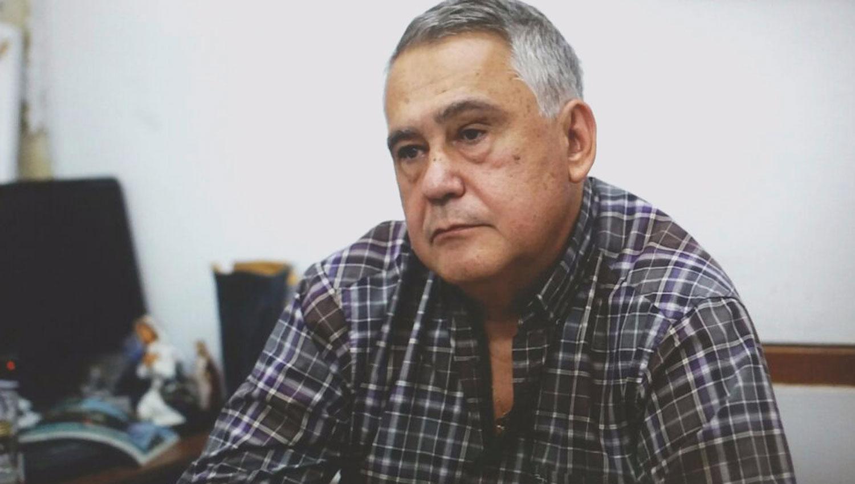 JIMÉNEZ AUGIER. El ahora ex funcionario, durante una entrevista con Panorama Tucumano. CAPTURA DE VIDEO