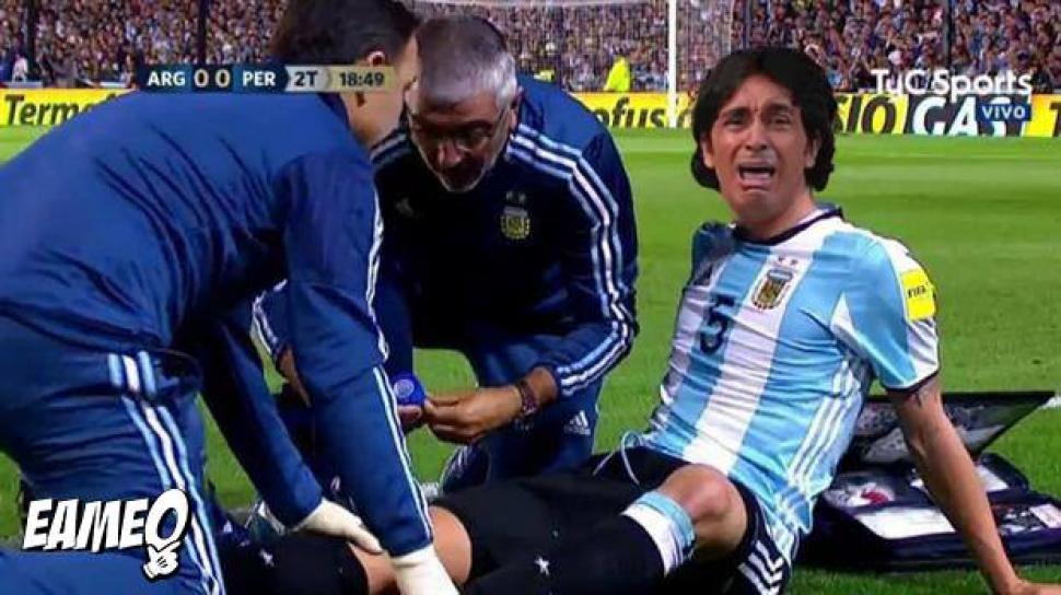 Argentina no pudo con Perú, y las redes se inundaron de memes