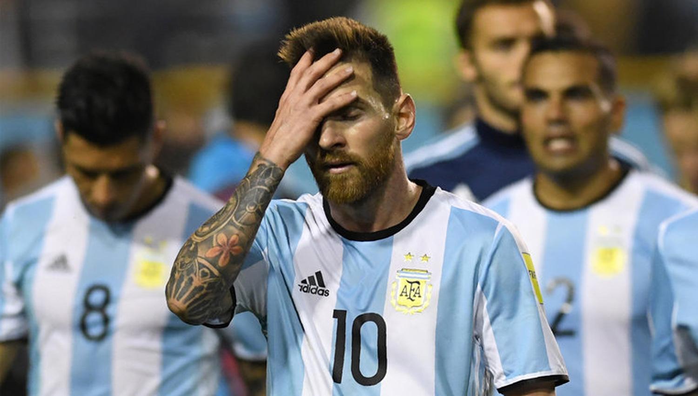 SELECCIÓN ARGENTINA. EN PROBLEMAS (DYN)
