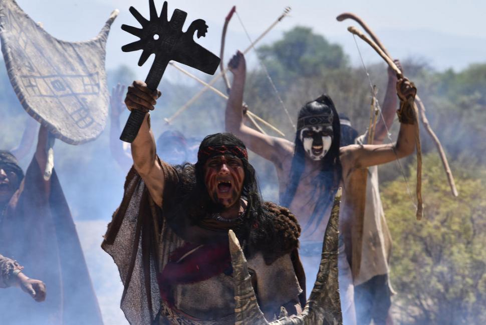 Descendientes de los quilmes filman la gesta de sus ancestros