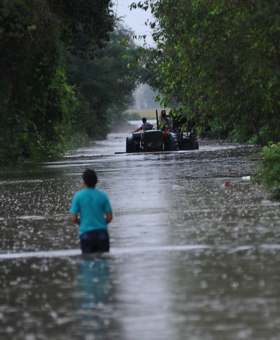PERDIERON TODO. La inundación en Graneros motivó la emergencia. la gaceta / foto de osvaldo ripoll