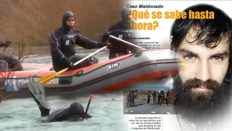 Infografía: qué se sabe hasta ahora sobre la investigación del caso Maldonado