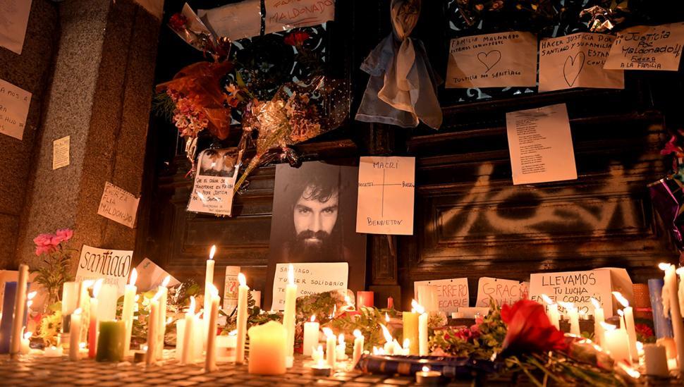 La autopsia reveló que el cuerpo de Santiago Maldonado no tenía lesiones