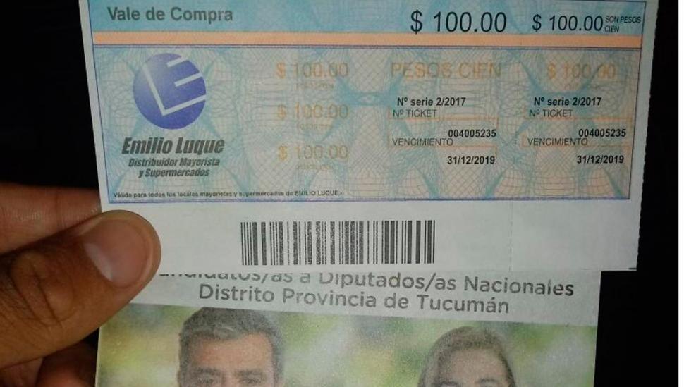 Luque dijo que su empresa no repartió tickets para los políticos