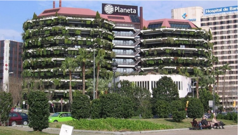 IMPACTO. La sede de Editorial Planeta en Barcelona fue trasladada a Madrid. FOTO TOMADA DE INFOBAE.COM